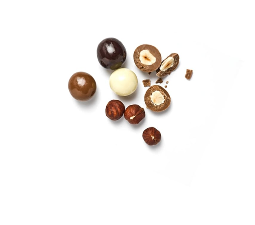 Hazelnuts in Chocolate